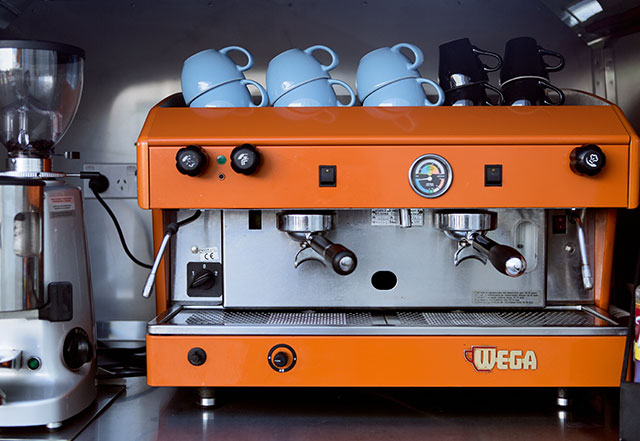 The espresso machine